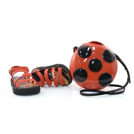 Sandália Infantil Ladybug Pocket + Brinde