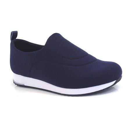 Tênis Usaflex Conforto Azul Ou Preto