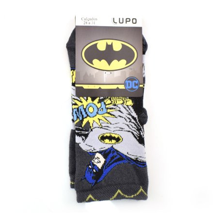 Meia Infantil Lupo Batman
