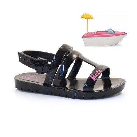 Sandália Infantil Barbie Iate + Brinde