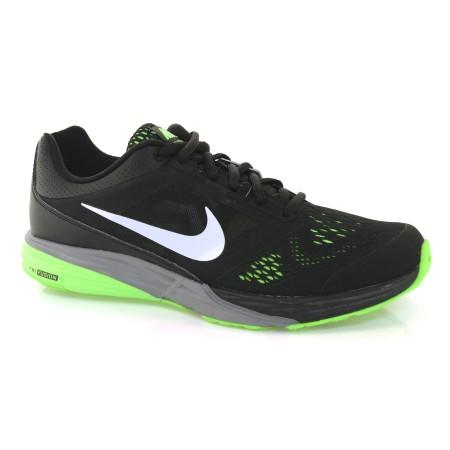 ... b0ce055fadd Tênis Masculino Nike Tri Fusion PRETO BCO VDE LIMAO Com o Melhor  Preço na Vizzent ... 413b5b70162e1