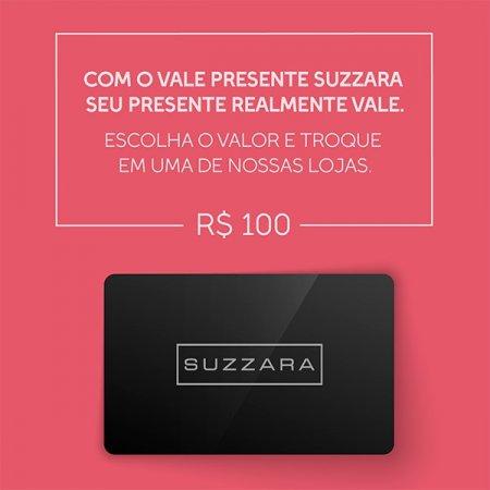 Vale Presente R$100,00 - SUZZARA
