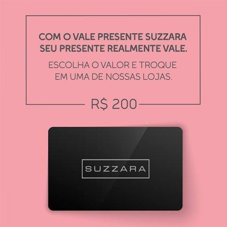 Vale Presente R$200,00 - SUZZARA