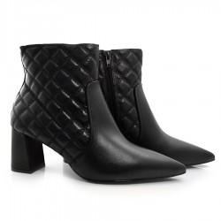 Imagem - Ankle Boots De Couro Suzzara cód: 0000007221057