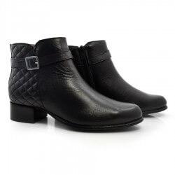 Imagem - Ankle Boots Feminino De Couro Suzzara cód: 0000009821040