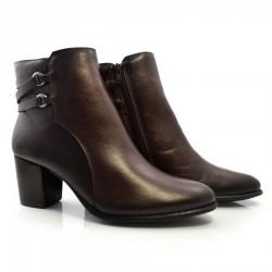 Imagem - Ankle Boots De Couro Suzzara cód: 0000011121046