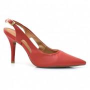 Sapato Chanel De Salto Alto Vizzano