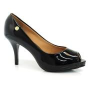 Sapato Peeptoe Feminino Vizzano