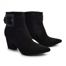 Imagem - Ankle Boots De Salto Bloco Off Line cód: 0000023420069