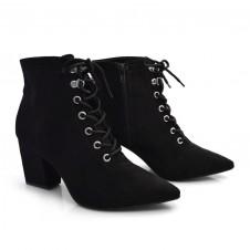 Imagem - Ankle Boots De Salto Bloco Off Line cód: 0000024020060