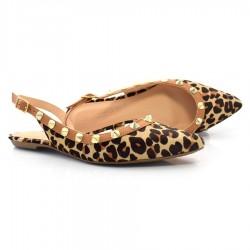 Imagem - Sapato Chanel De Couro E Animal Print Suzzara cód: 0000024021043