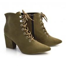 Imagem - Ankle Boots De Salto Bloco Off Line cód: 0000024620062