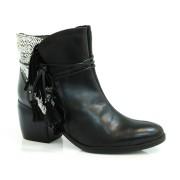 Imagem - Ankle Boot De Couro Cravo & Canela cód: 0000029516025
