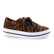 Tênis Animal Print Flatform Quiz