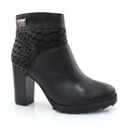 Ankle Boots De Couro Bottero