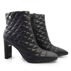Imagem - Ankle Boots De Bico Quadrado E Salto Bloco Offline cód: 0000039621047