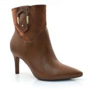 Imagem - Ankle Boots De Salto Alto Ramarim 0000041518038 NATURAL MOGNO(S) 2