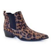 Imagem - Ankle Boot De Couro Com Elático Suzzara cód: 0000042019053