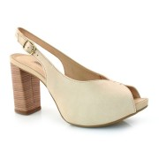 Peep Toe De Salto Bloco Dakota