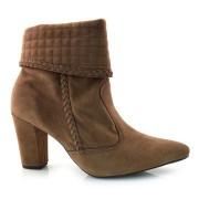 Ankle Boots De Salto Alto Manuelly