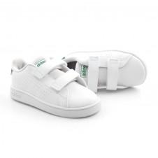Imagem - Tênis Branco Infantil Adidas Advantage cód: 0000052019111