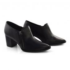 Imagem - Ankle Boots De Couro E Salto Bloco Suzzara cód: 0000057120027