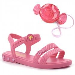 Imagem - Sandália Infantil Barbie Com Candy Bag cód: 0000066221098