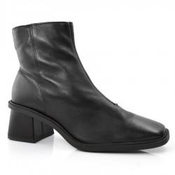 Imagem - Ankle Boots De Couro E Salto Bloco Suzzara cód: 0000069921063