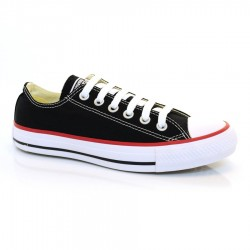 Tênis Preto All Star Basket Low