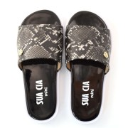 Chinelo Slide Animal Print Infantil Sua Cia