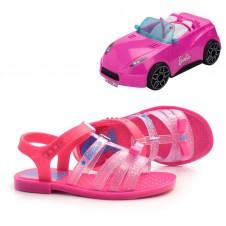 Imagem - Sandália Infantil Barbie Pink Car + Brinde cód: 0000084420107
