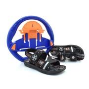 Sandália Papete Infantil Com Brinde Hot Wheels Volast - 25/26 A 33/34