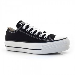 Tênis All Star Flatform Preto