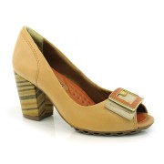 Sapato Peep Toe Feminino Ramarim