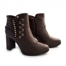 Imagem - Ankle Boots De Salto Alto Mississipi cód: 0000112020033
