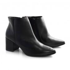 Imagem - Ankle Boots De Couro E Salto Bloco Suzzara cód: 0000124920031