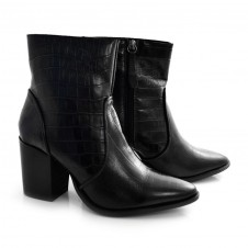 Imagem - Ankle Boots De Couro E Salto Bloco Suzzara cód: 0000139220034