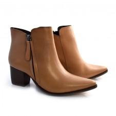Imagem - Ankle Boots De Couro E Salto Bloco Suzzara cód: 0000140020036