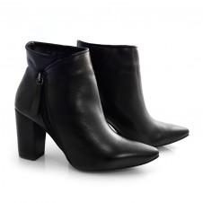 Imagem - Ankle Boots De Couro E Salto Alto Suzzara cód: 0000140620038