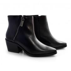 Imagem - Ankle Boots De Couro E Salto Bloco Suzzara cód: 0000146220034
