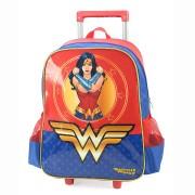 Mochila De Carrinho Luxcel Wonder Woman
