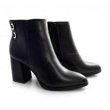 Imagem - Ankle Boots De Couro E Salto Bloco Suzzara cód: 0000148120035
