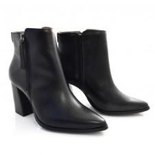 Imagem - Ankle Boots De Couro E Salto Bloco Suzzara cód: 0000148820034