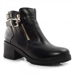 Imagem - Ankle Boots De Couro Suzzara cód: 0000158421054