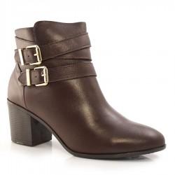 Imagem - Ankle Boots De Couro Suzzara cód: 0000159221059