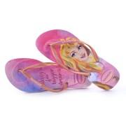 Imagem - Chinelo Havaianas Slim Disney Princess cód: 0000162919097