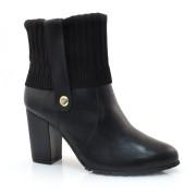 Ankle Boots De Couro Verofatto