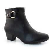 Ankle Boots De Salto Baixo Modare