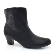 Ankle Boots De Salto Baixo Piccadilly