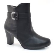 Ankle Boots De Salto Alto Piccadilly